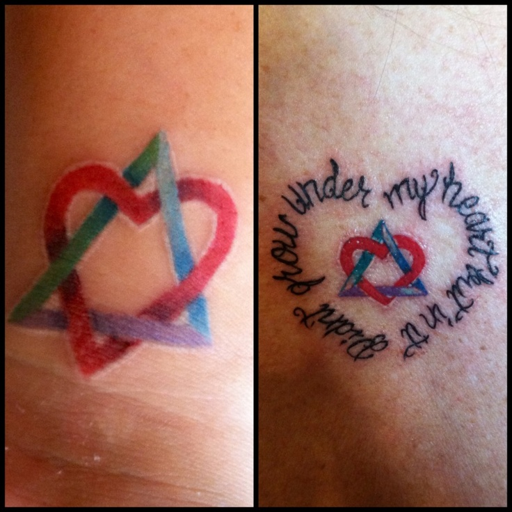 Best 25 Adoption Symbol Tattoos Ideas On Pinterest Ideas And Designs