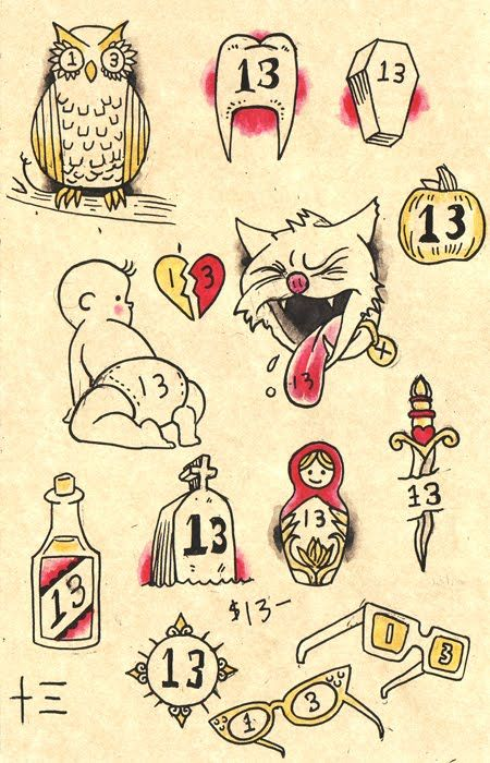 Best 25 Friday The 13Th Tattoo Ideas On Pinterest Ideas And Designs
