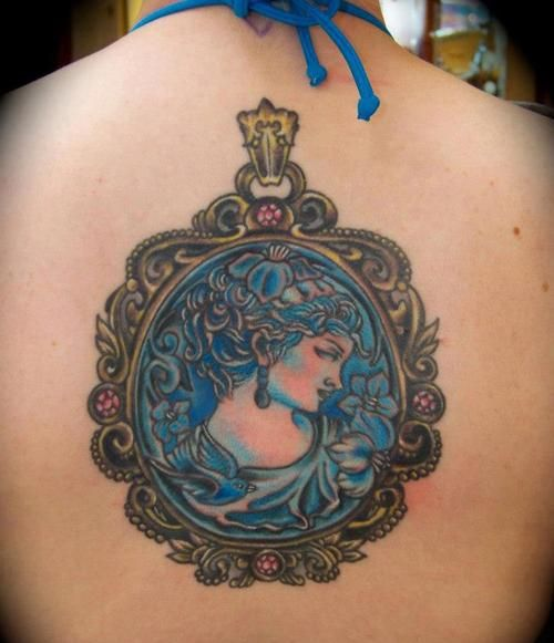 41 Best Cameo Tattoo Images On Pinterest Cameo Tattoo Ideas And Designs