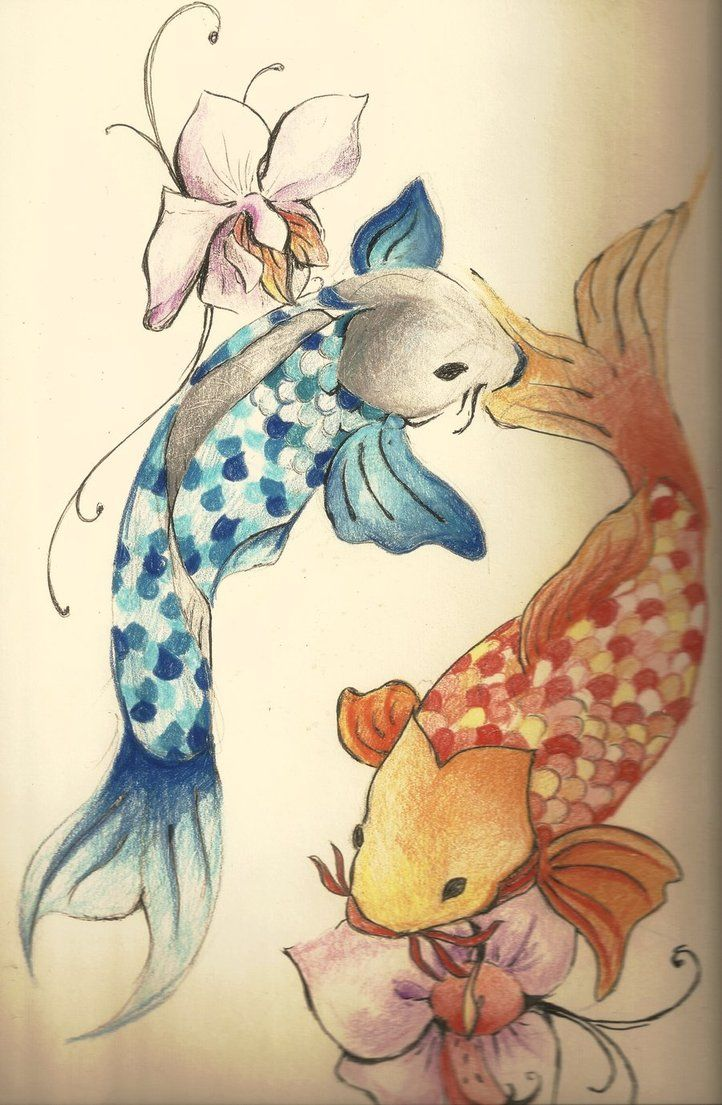 Koi Fish Tattoo By Loiaconos On Deviantart Tattoos Ideas And Designs