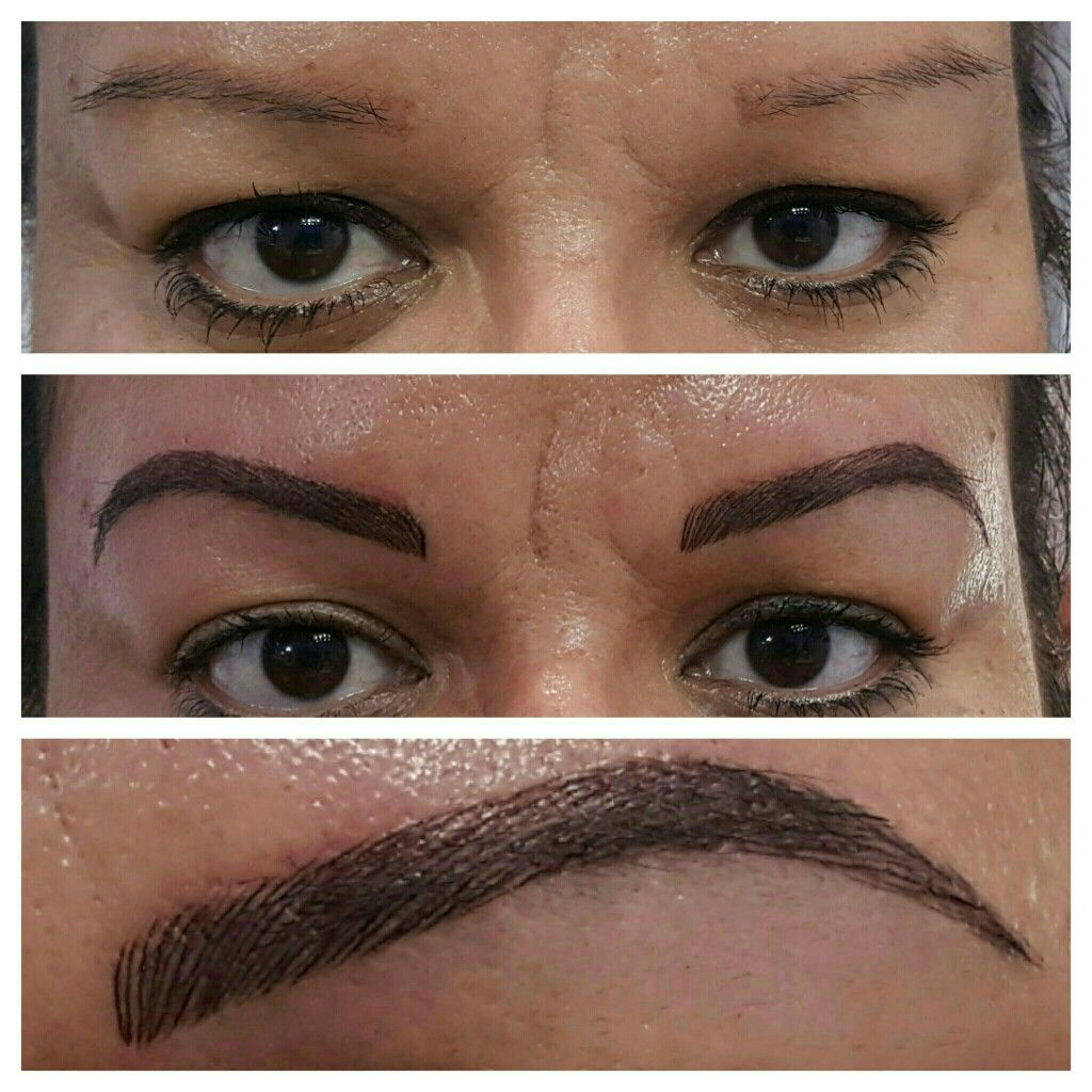 28 3D Eyebrow Tattoo Nyc 3D Hair Str*K* Eyebrow 3D Ideas And Designs