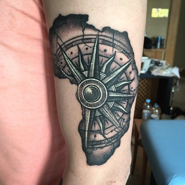 Map Of Africa Tattoos African Tattoo Africa Tattoos Ideas And Designs