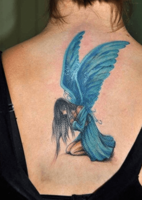 3D Fairy Tattoos With Flowers Tattoos Waist Tattoos Ideas And Designs