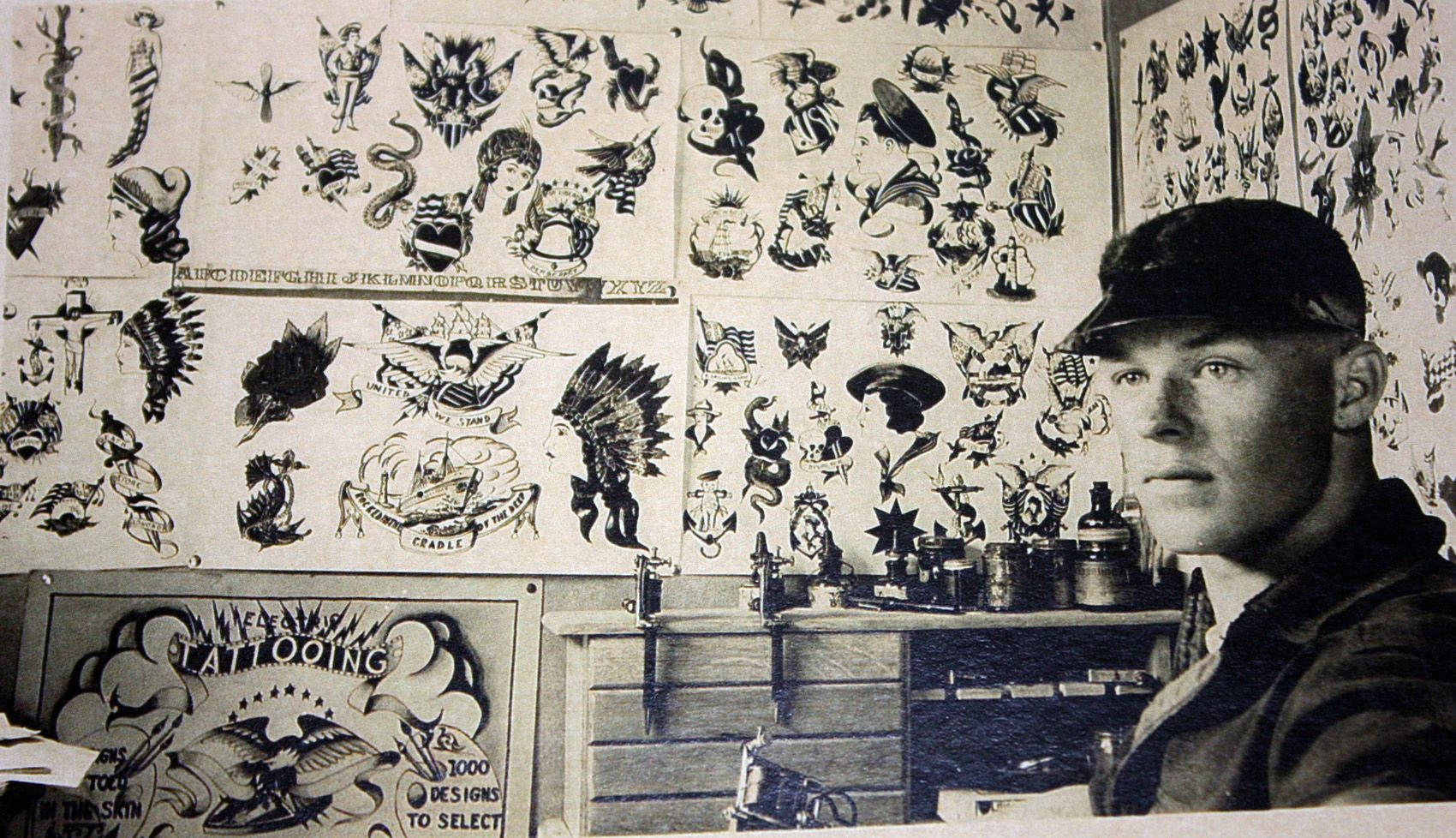 Fred Marquand Nearly Unknown Tattoo Artist From The Ideas And Designs