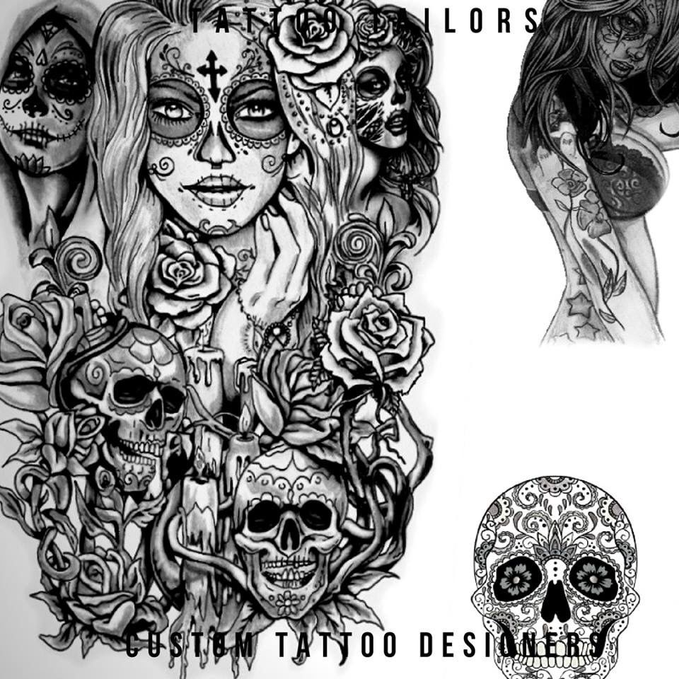 Sugar Skull Candy Tattoo Design Idea Created By Tattoo Ideas And Designs