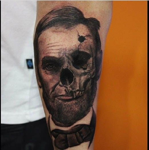Abraham Lincoln In The Process Of Decaying By Alexandr Ideas And Designs