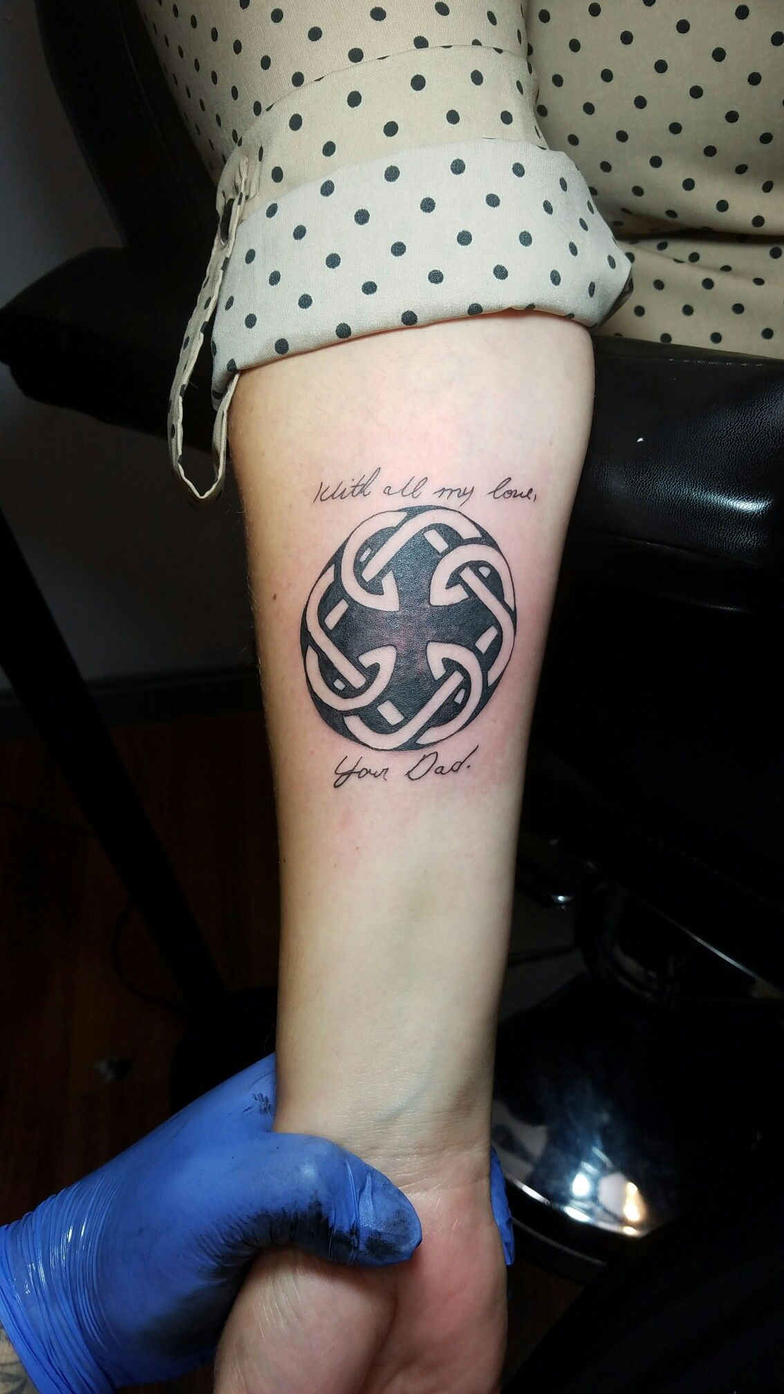 Father Daughter Memorial Tattoo Memorial Tattoo Father Ideas And Designs
