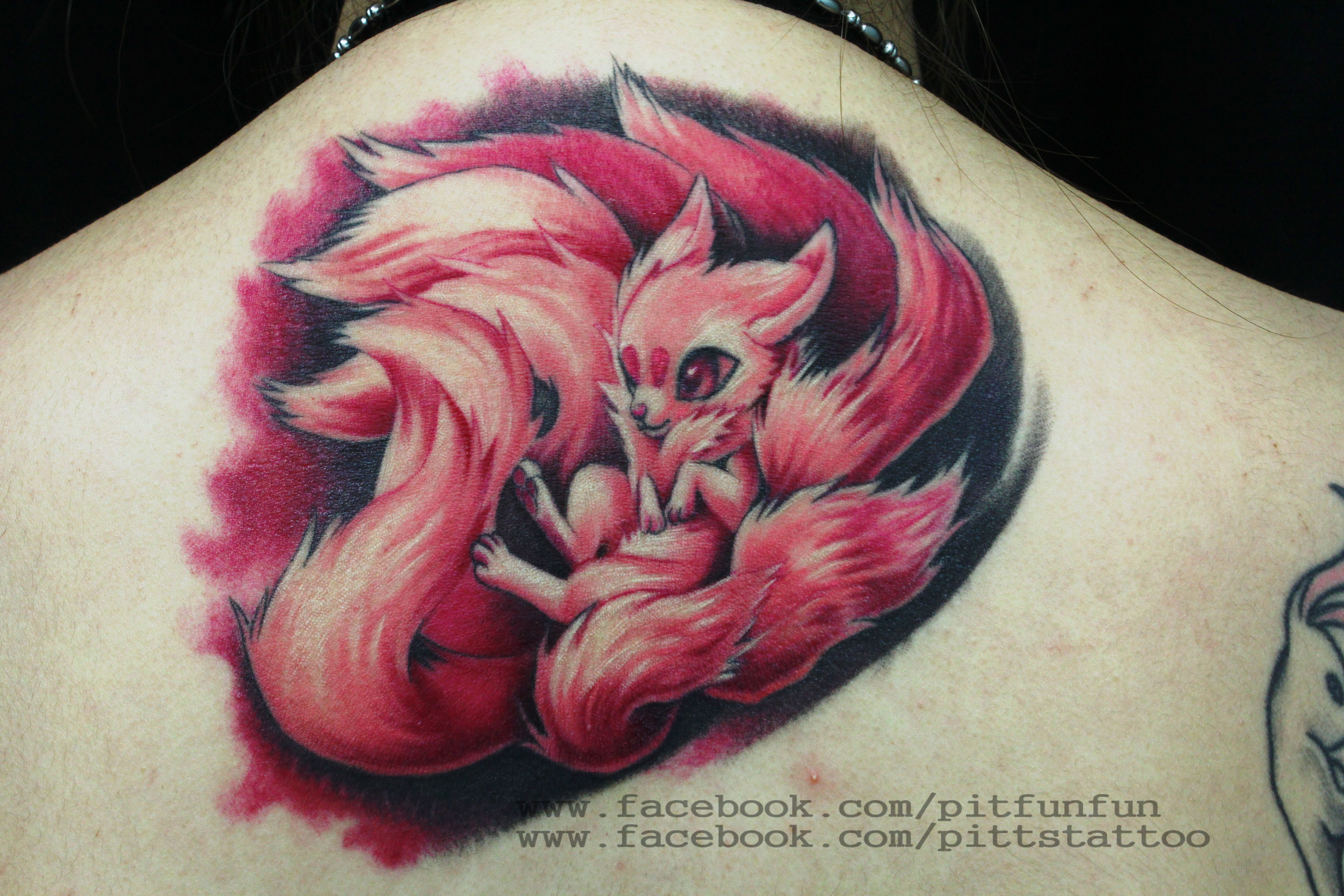Nine Tails Tattoo By Artist Pit Fun Fun Www Facebook Com Ideas And Designs
