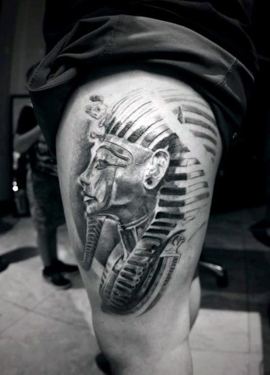 60 King Tut Tattoo Designs For Men Egyptian Ink Ideas Ideas And Designs
