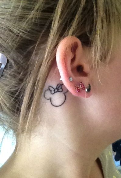 My Little Minnie Mouse Artwork By Justin At 454 Tattoo In Ideas And Designs