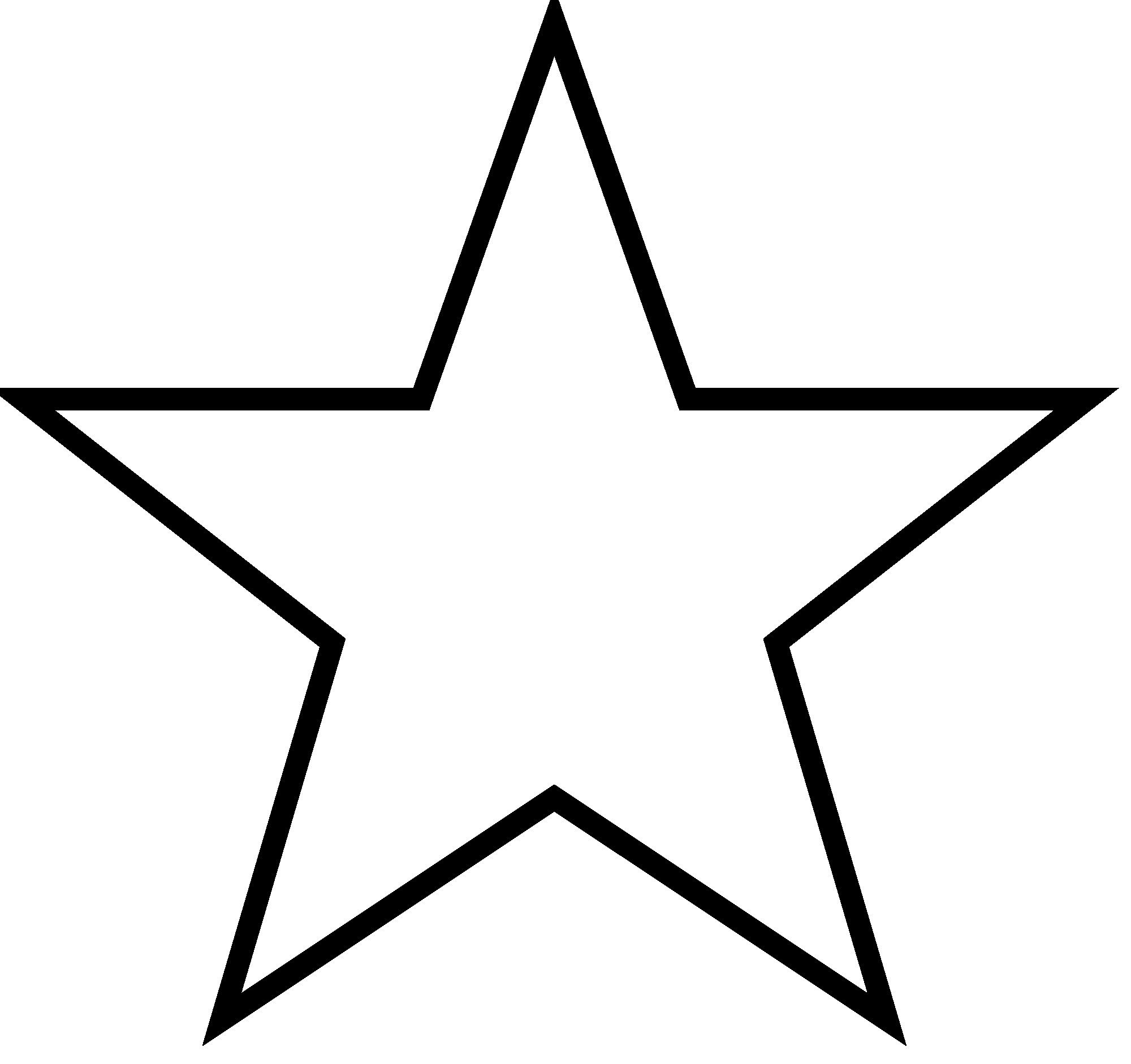 5 Point Star Outline Thatswhatsup Patriotic Star Ideas And Designs