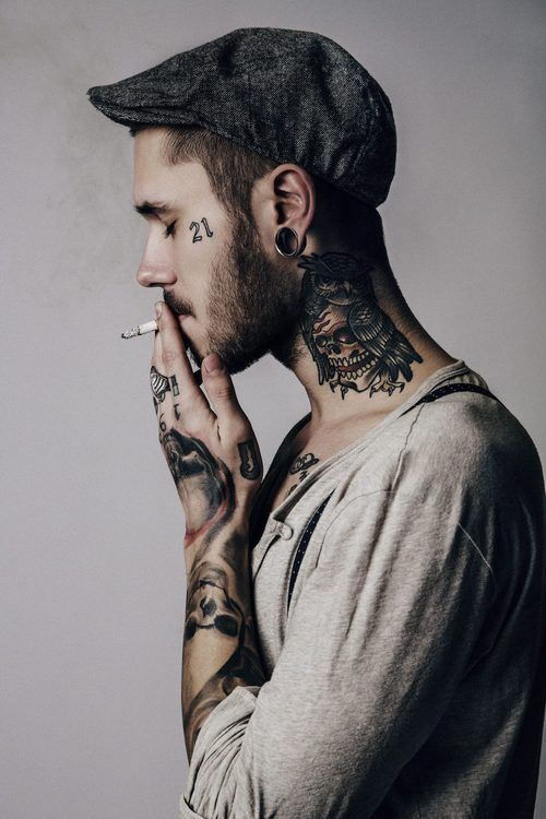 Neck Tattoos Designs For Men Body Marking Neck Tattoo Ideas And Designs