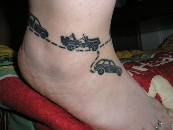 Cute Jeep Tattoo Idea Tattoo Thoughts Jeep Tattoo Ideas And Designs
