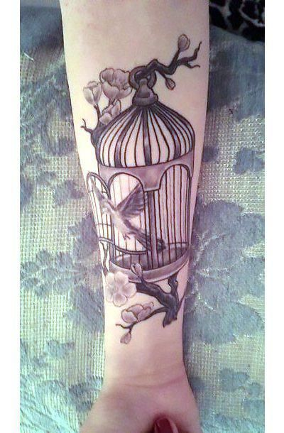 Tattoo Ideas Cute Black And Gray Birdcage 2017 Tattoos Ideas And Designs
