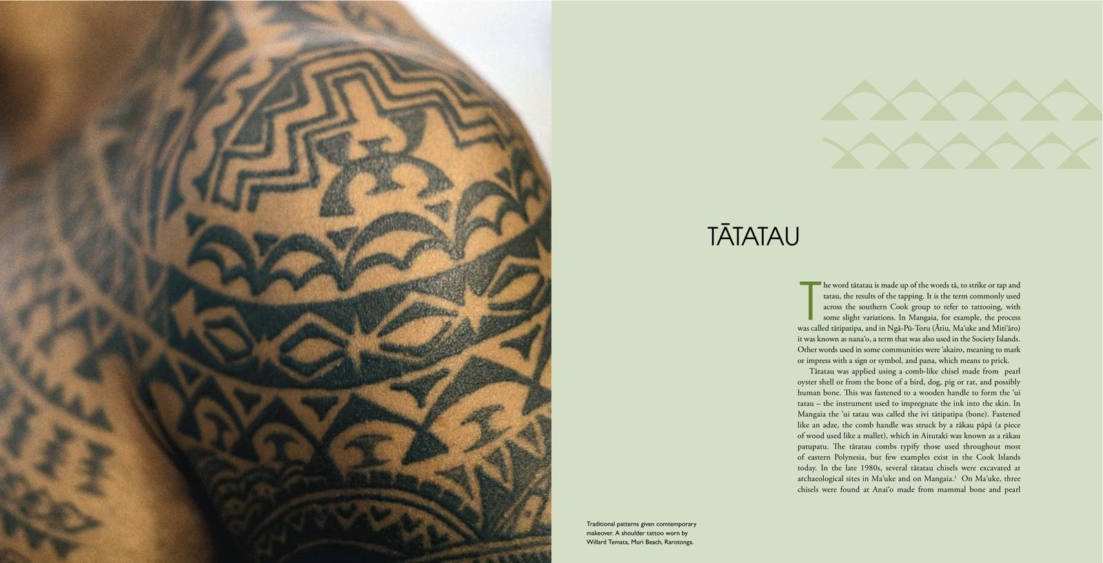 Patterns Of The Past Tattoo Revival In The Cook Islands Ideas And Designs