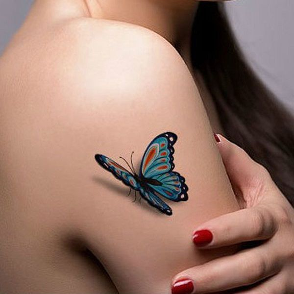 65 3D Butterfly Tattoos Butterfly Tattoos Butterfly Ideas And Designs