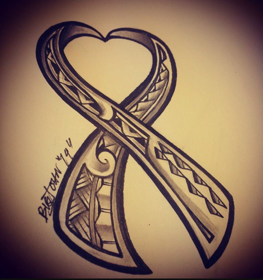 Polynesian Version In Tribute To Cancer Awareness Ideas And Designs