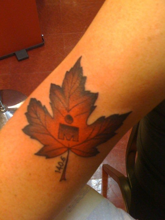 Cool Ironman With Maple Leaf And 140 6 Tattoo Ideas Ideas And Designs