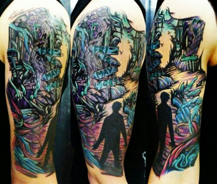 A Day To Remember Homesick Sleeve Tattoo Inspiration Ideas And Designs