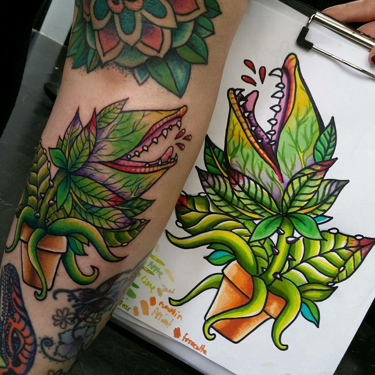Don T Pray For Me Fuckyeahtattoos Audrey 2 Tattoo Done Ideas And Designs
