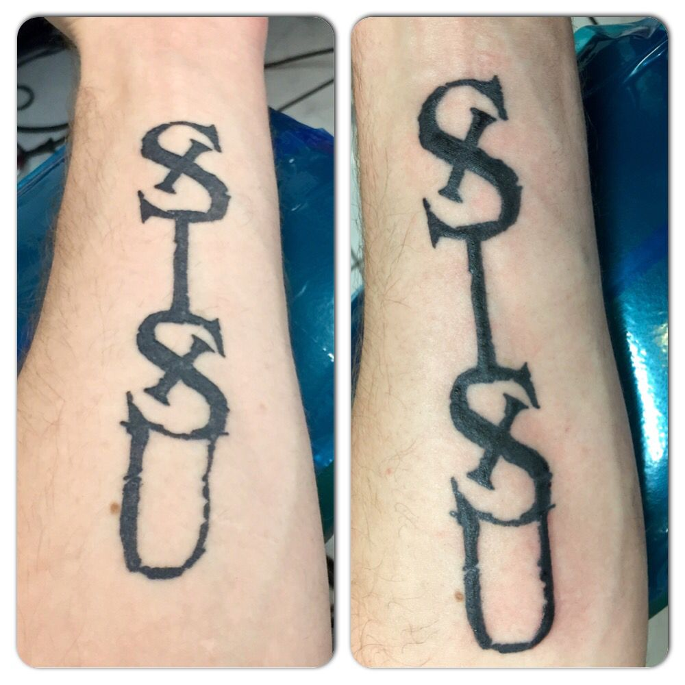 My Sisu Tattoo Original And Then After Touch Up Sisu Ideas And Designs