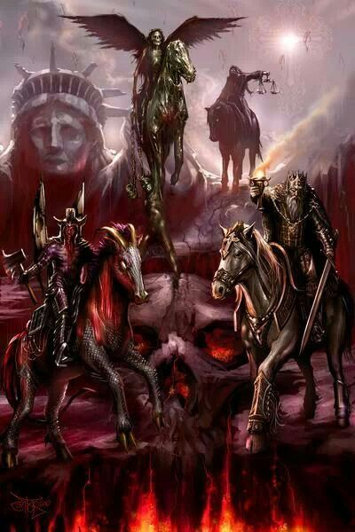 The 4 Horseman Of The Apocalypse Tattoos Pinterest Ideas And Designs
