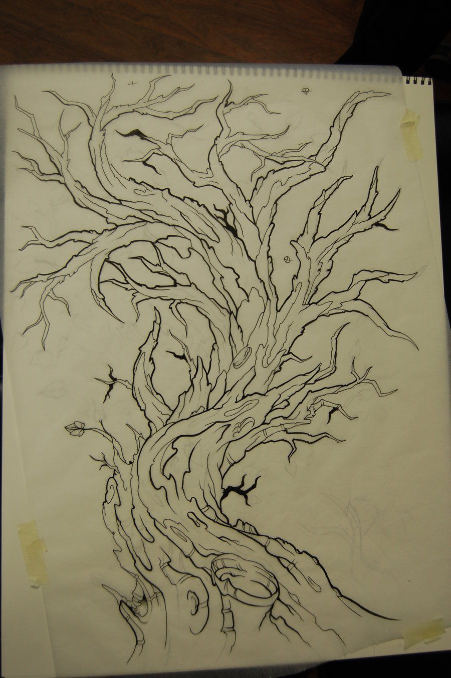 Very Old Tree Tattoo Image Tattooing Designs Tattoo Ideas And Designs