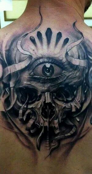 Third Eye Skull Good Tattoos Tattoos Tattoo Artists Ideas And Designs