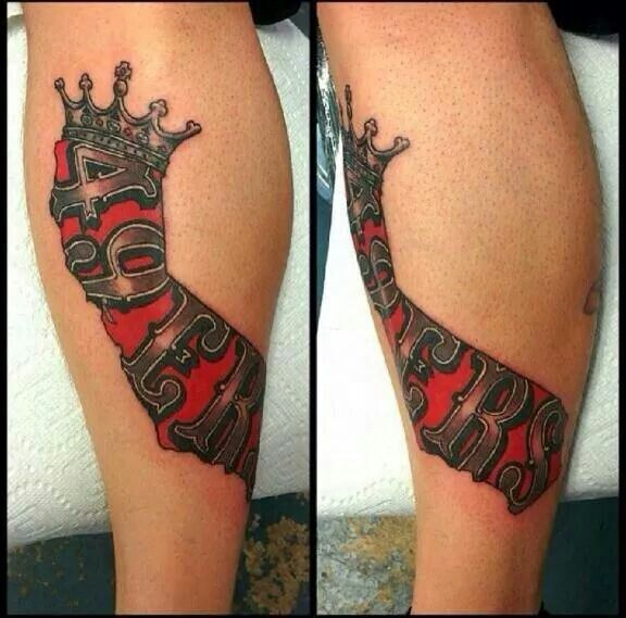 California Kings 49Ers Tacas Tattoos Tattoos Cool Ideas And Designs
