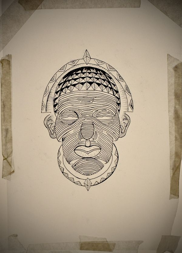 African Mask Tattoo Designs Images Pictures Becuo Ideas And Designs