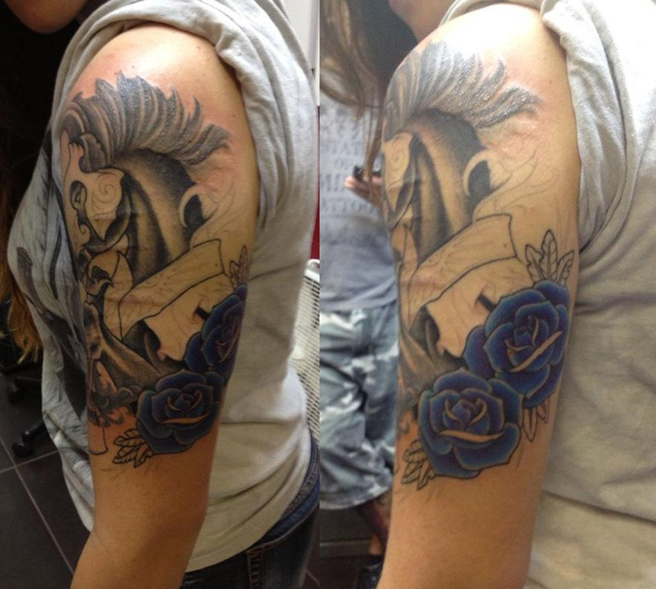 Sleeves To Cover Up Tattoos Tattoo Cover Up Sleeve Ideas And Designs