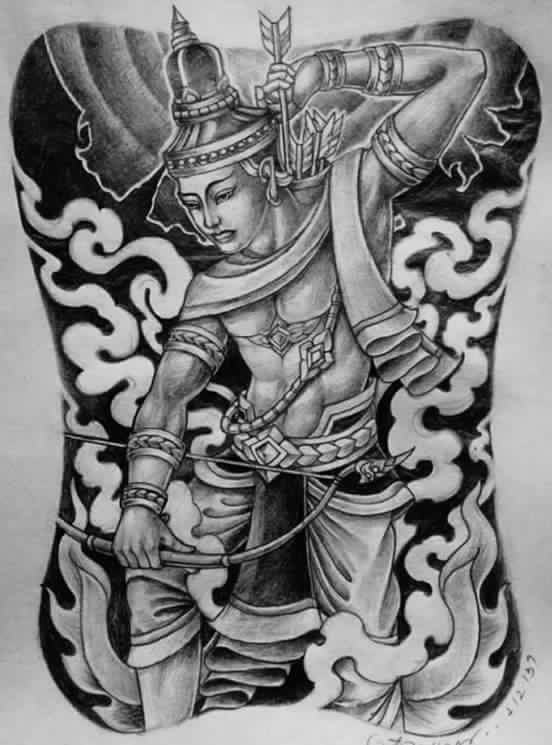 Beautiful Southeast Asian Tattoo Art Illustration Ideas And Designs
