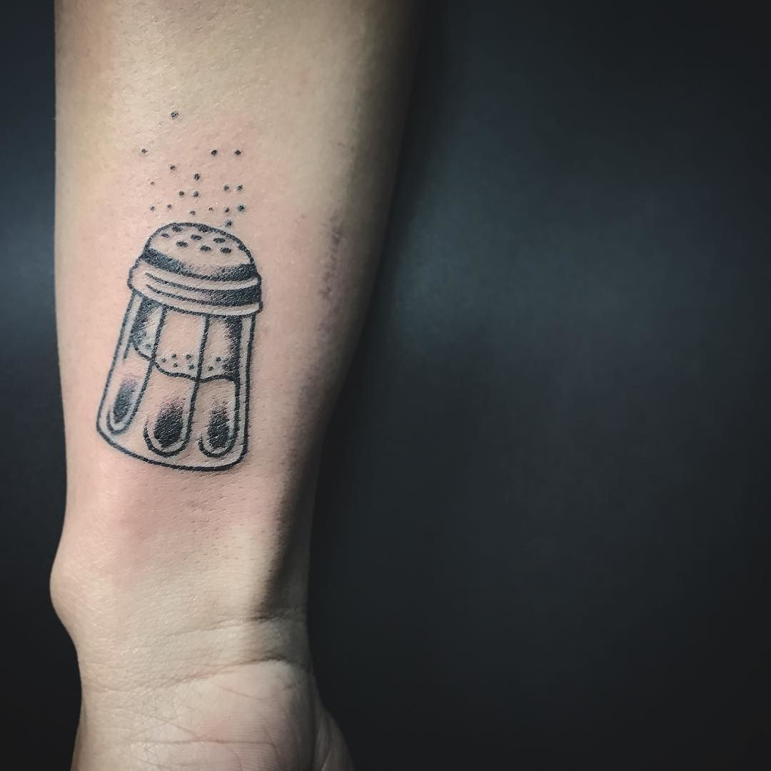 Cut Salt Shaker Tattoo From Friday The 13Th Special Ideas And Designs