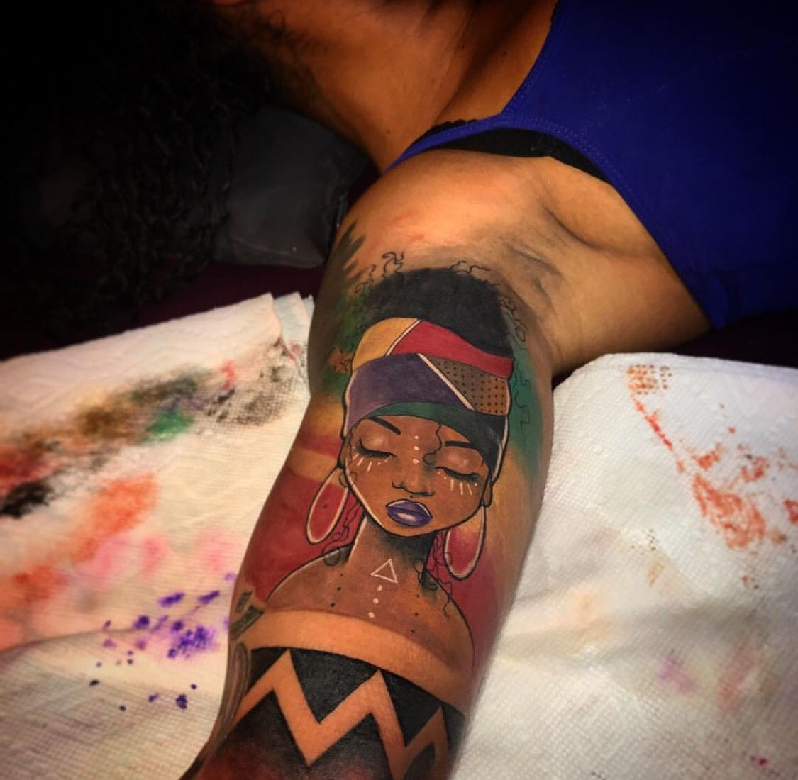 African American Tattoos The Tattoo Art Of Africa Ideas And Designs