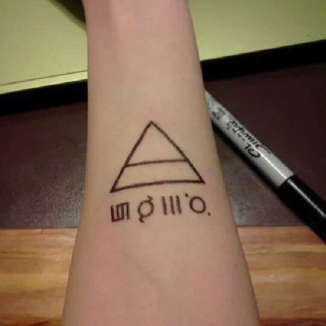 30 Seconds To Mars Temp Tattoo Made From Sharpie Drawn By Ideas And Designs