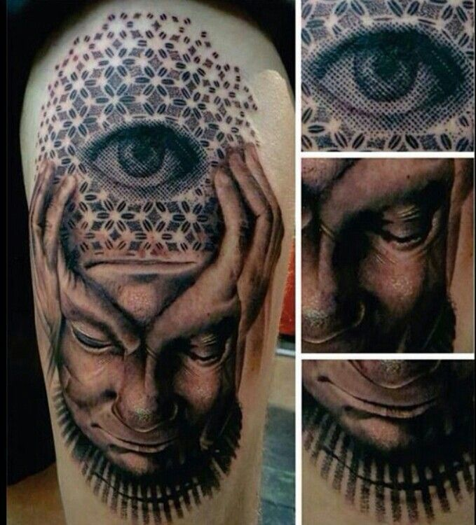 Surreal Pixel Third Eye Tattoo Ink Tattoos Surreal Ideas And Designs