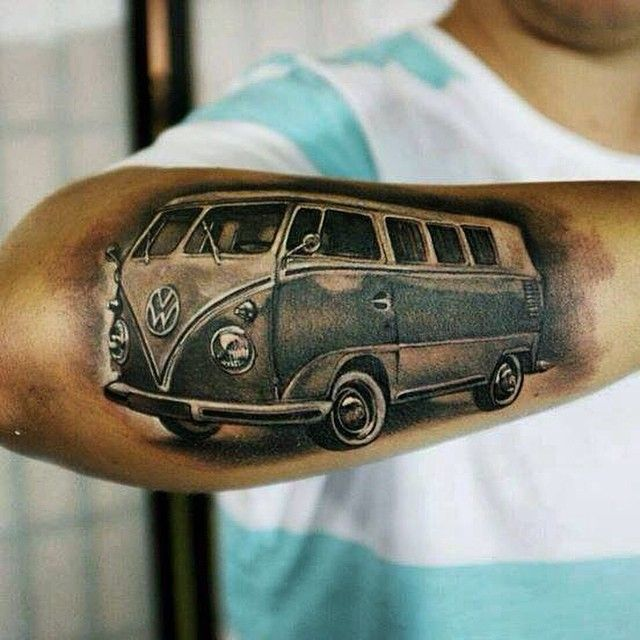 """True Dedication Picture Tattoo Danieldd D Vw Vwbus Ideas And Designs"