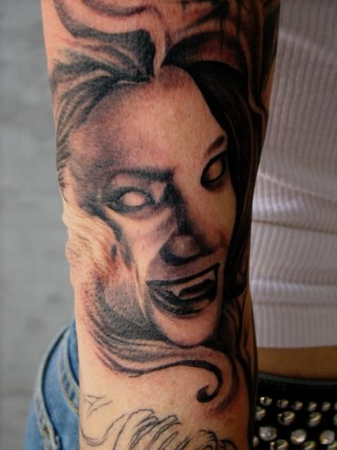 From Vampy Sleeve Done By Jon Highland 12 Monkeys Ideas And Designs