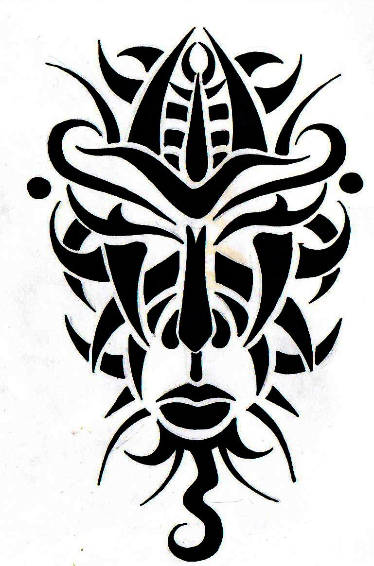 African Mask Tribal Tattoo Inspirations Tattoos Ideas And Designs