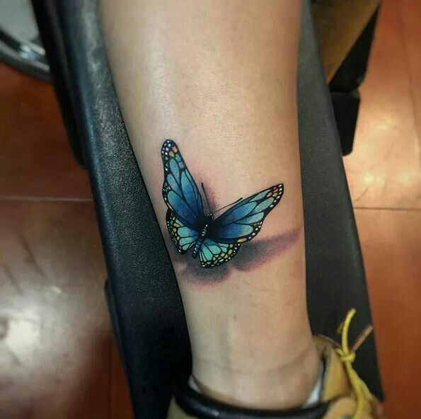 Probably The Best 3D Butterfly Tattoo I Have Ever Seen Ideas And Designs