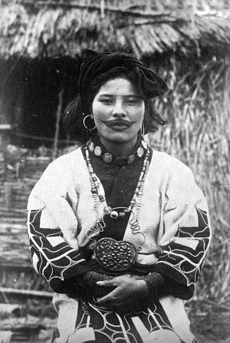 """Japan """"Ainu Woman With Lip Tattoo"""" Photographer And Ideas And Designs"""
