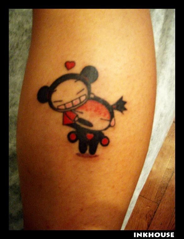 Pucca Garu Tattoo Want Cute Stuff Pucca Etc Ideas And Designs