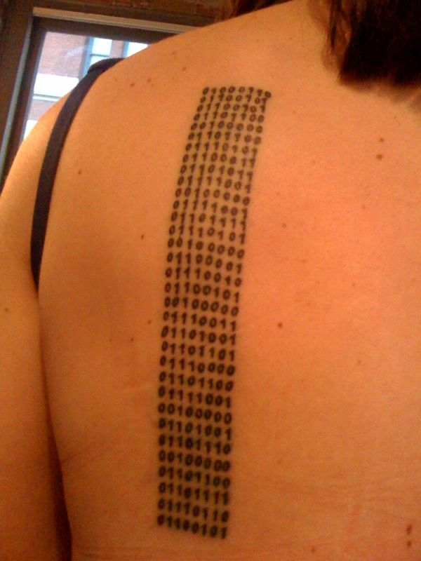 Binary Tattoo Book 2 Inspiration Tattoos Life Ideas And Designs