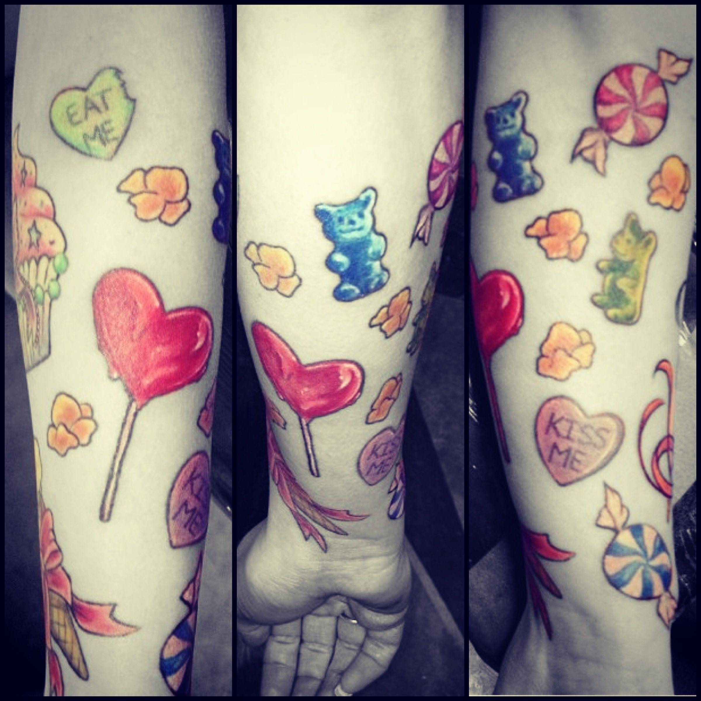 Tattoos Candy Sleeve Colors My Tattoo Tattoos Tattoos Ideas And Designs