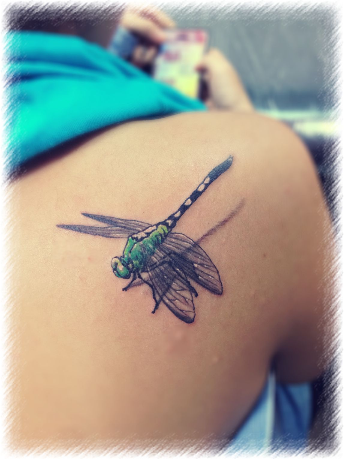 Amazing Dragonfly Tattoo Awesome B O D Y A R T Ideas And Designs