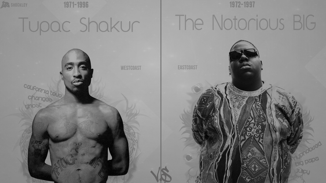 2Pac Biggie Favourite Music In 2019 Tupac Wallpaper Ideas And Designs