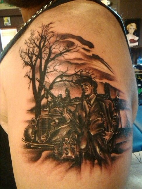 1930S Gangster Tattoos Gangster Tattoos Tattoos Skull Ideas And Designs