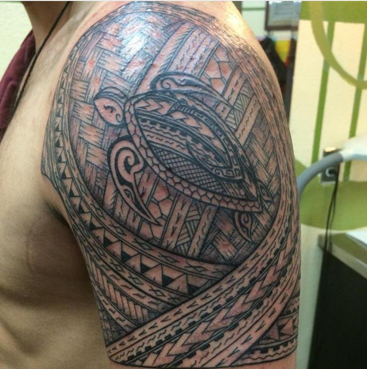 My Tribal Tattoo Done A Few Years Back At A Town Tattoo In Ideas And Designs