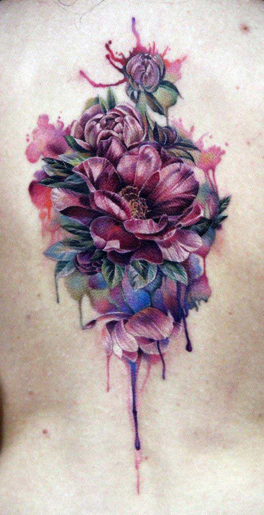 70 Creative And Beautiful Flower Tattoo Designs For Women Ideas And Designs