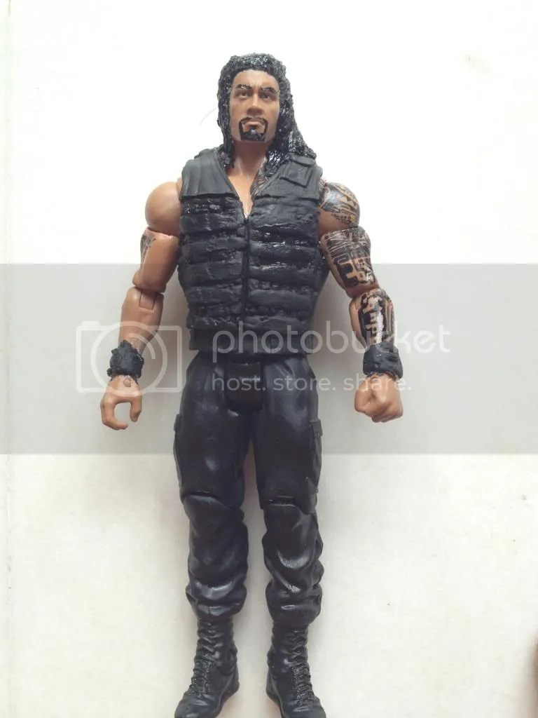 Customs For The First Time Roman Reigns Hobo Aj Styles Ideas And Designs